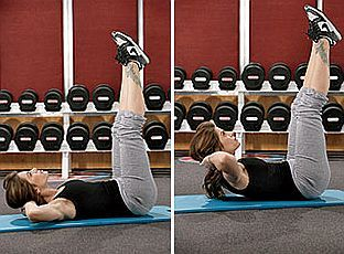 Abs Workout (3) - Vertical Leg Crunch - http://www.amazingfitnesstips.com/abs-workout-3-vertical-leg-crunch/