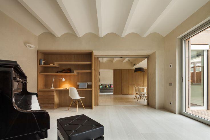 Duplex in Gracia,© Lluís Casals