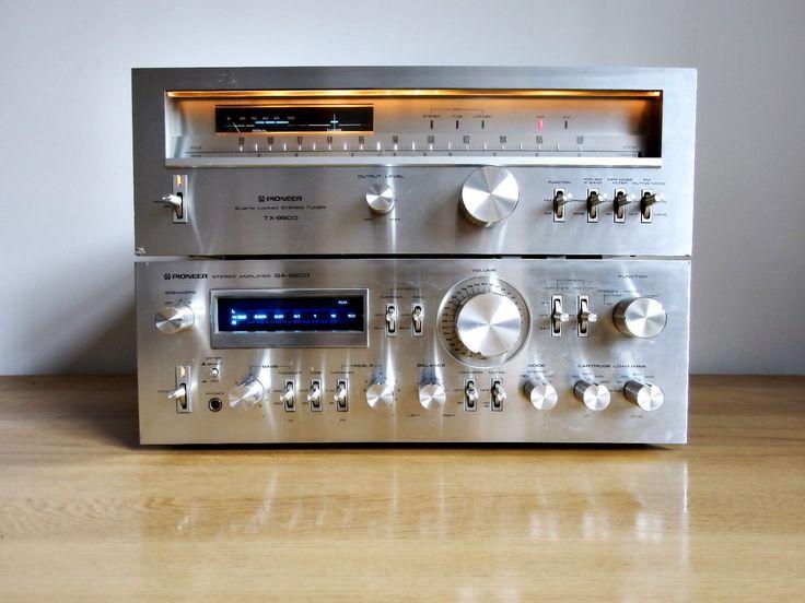 Vintage Pioneer SA-9800 Integrated Amplifier / MONSTER / HI-FI / AMP / RARE | eBay