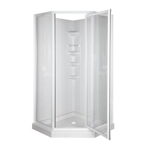 Bathroom Shower Stalls Lowes best 25+ corner shower units ideas only on pinterest | corner sink