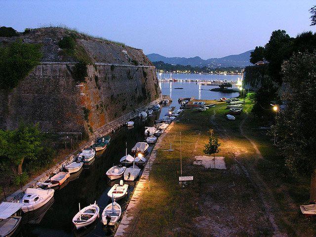 Κέρκυρα Αξιοθέατα, Παλαιό Φρούριο της Κέρκυρας   travelovergreece