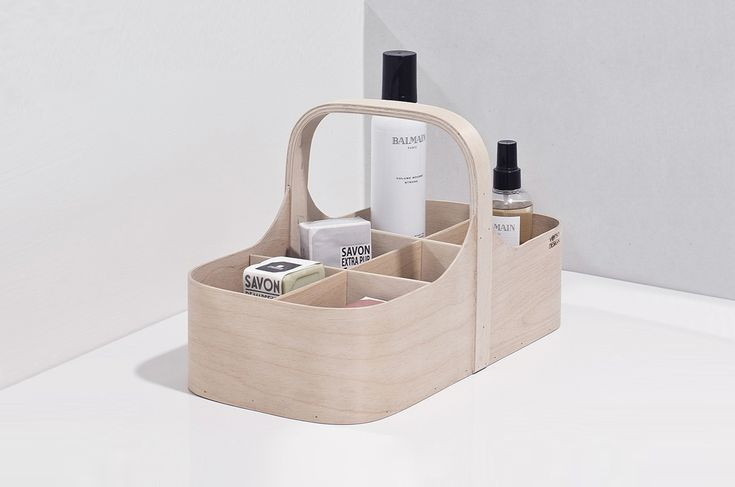 Verso Koppa Birch Tool Box | Storage Solutions | Finnish Design | www.homearama.co.uk | #verso #versodesign #storagesolutions #toolbox #finnishdesign