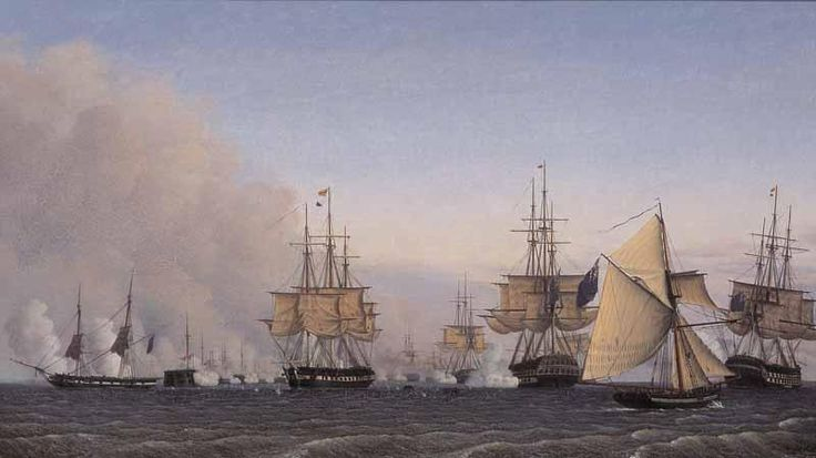 Adelsteen Normann - The Battle of Copenhagen on the 2nd of April 1801
