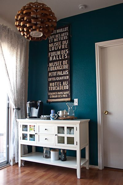 Kitchen Remodel: Coffee Bar ... Love this idea from @Megan Myers