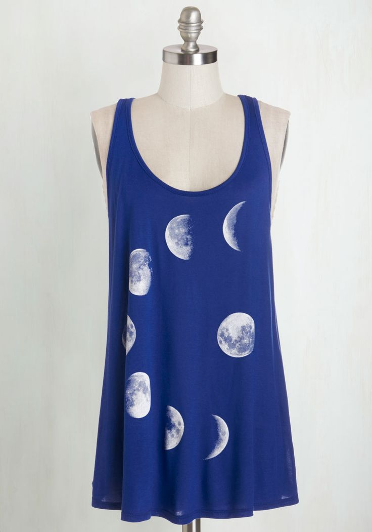 Never Phased Tank Top. This is one tank youll never want to phase out of your wardrobe! #blue #modcloth