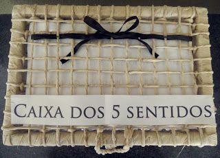 caixa dos cinco sentidos