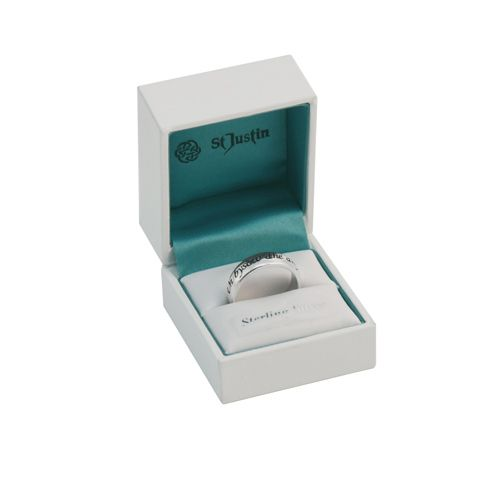 """Cornish Love Ring - """"un bysow dhe dhysquedhes agan kerensa"""" Translates """"One Ring to Show Our Love."""