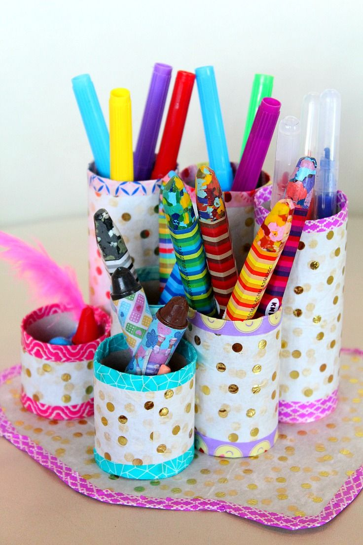 Best 25 pencil organizer ideas on pinterest pencil Kids toilet paper holder