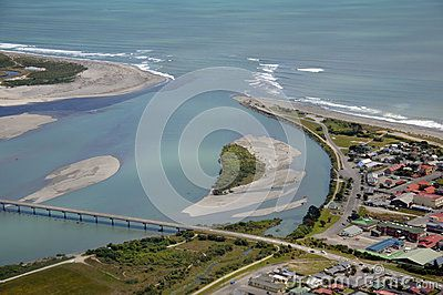 Hokitika River mouth