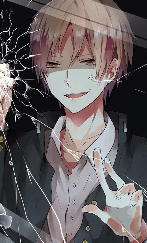 Is it just me or does this look like a blonde Izaya? It's just the way this guy was drawn to make me think that.
