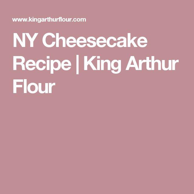 NY Cheesecake Recipe | King Arthur Flour