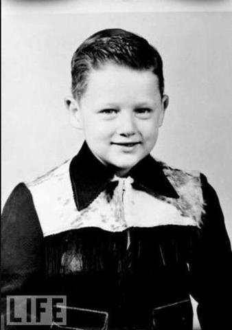 Bill Clinton 5 years old, 1952