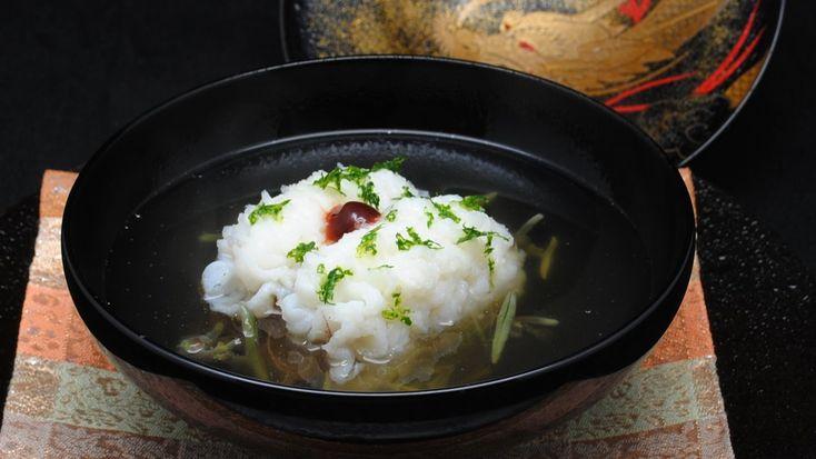 日本料理 龍吟 鱧椀2011 夏仕立て