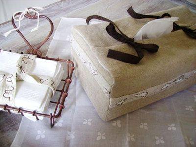 Housse de boîte à mouchoirs, Patron couture gratuit