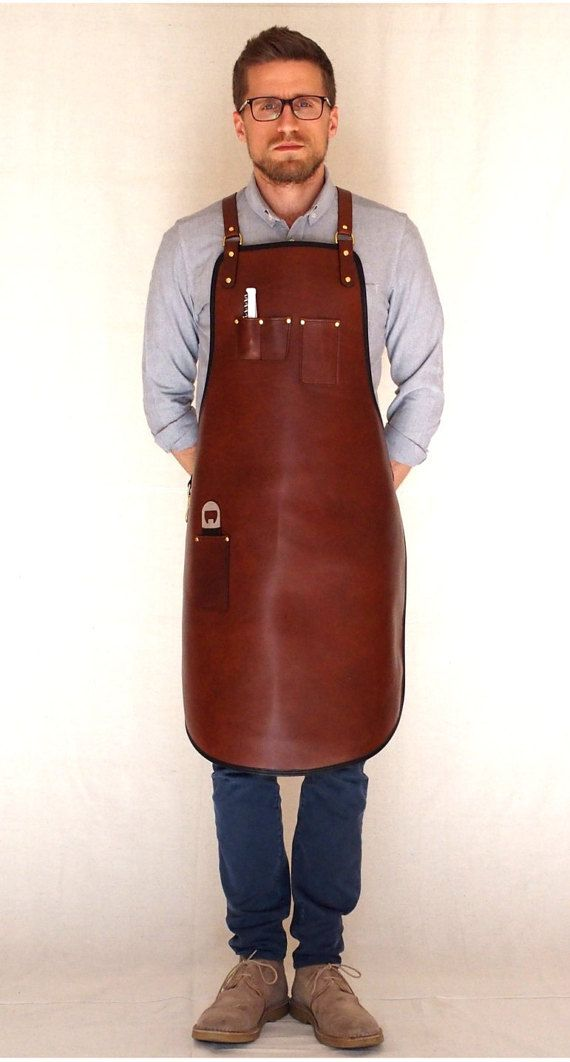Handcrafted leather apron - Premium Heavy Duty
