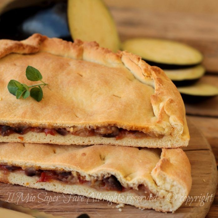 Torta pan brioche con melanzane rustico salato morbido e gustoso #tortasalata #panbrioche #melanzane