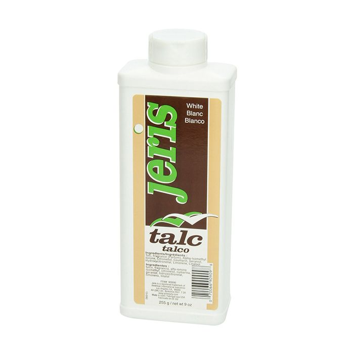 Jeris Hair Talc white 255g