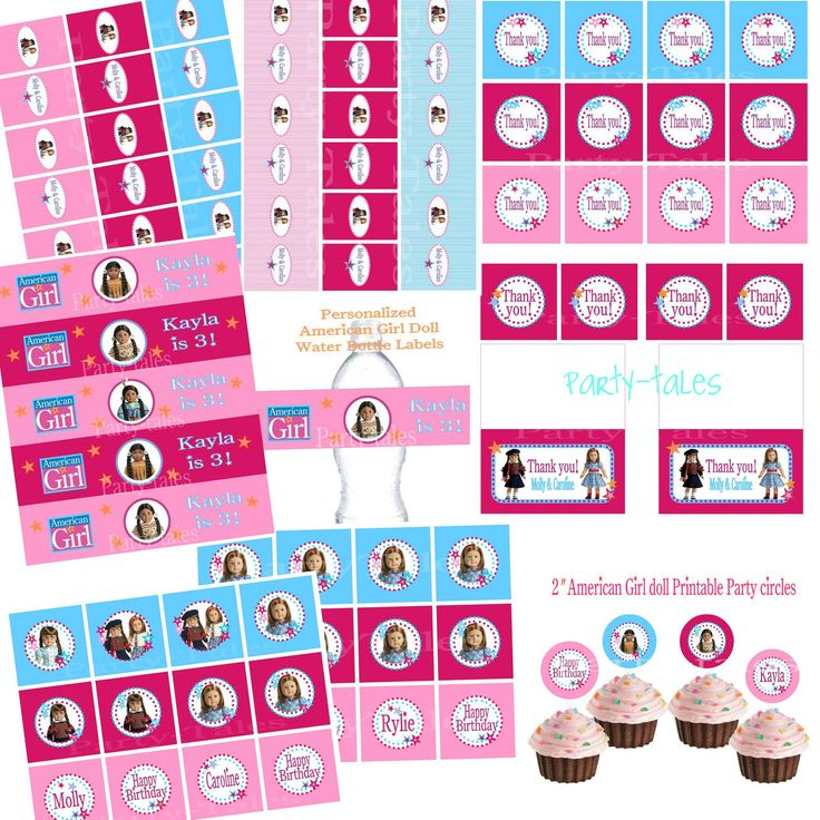 35 best american girl doll party images on pinterest american girl
