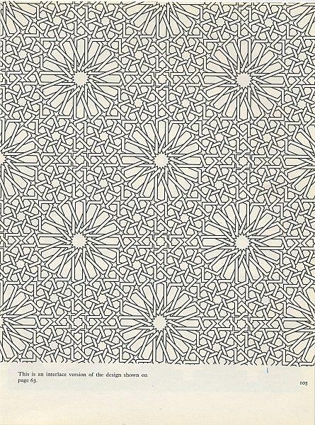 Pattern in Islamic Art - PIA 105