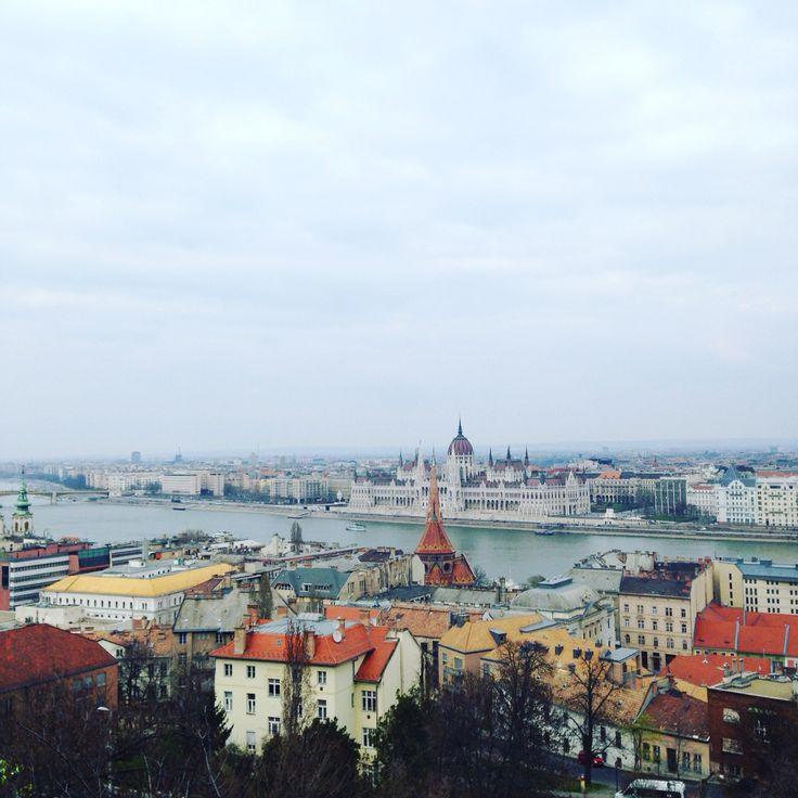 Vue du Bastion des pêcheurs • Budapest