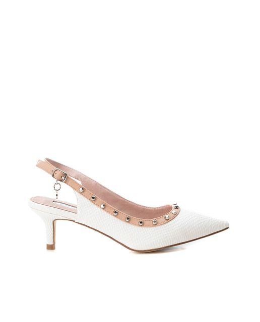 490efd78a44 Zapatos de salón de mujer Xti de similpiel color blanco · Moda · El Corte  Inglés