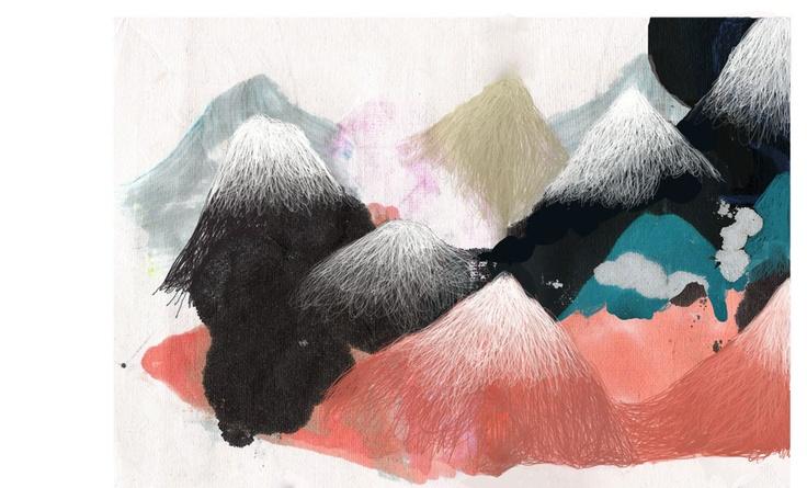 Waii-waii // Montagne bleue