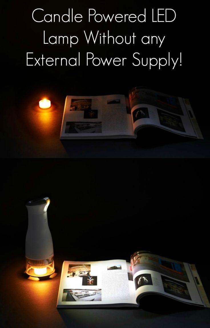 120 volt led night light circuit - Candle Powered Led Desk Lamp