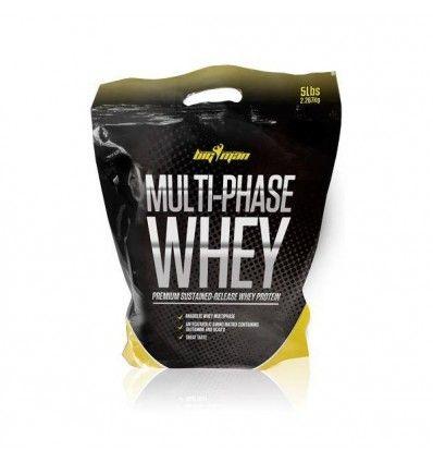 Multi-Phase Whey de Big Man Nutrition es un suplemento alimenticio con proteína de rápida, media y lenta absorción completa, por lo que provocará grandes avances en tus músculos.