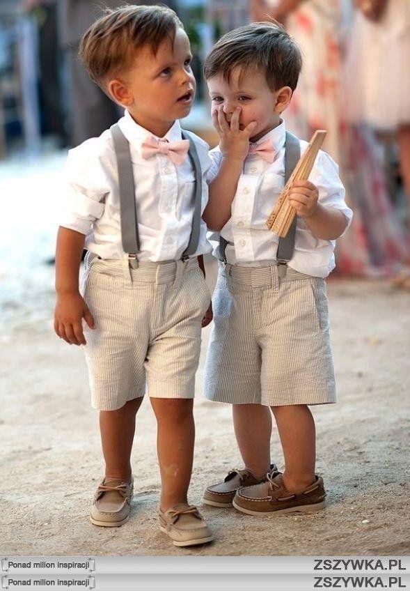 adorable ring bearer attire for a nautical wedding