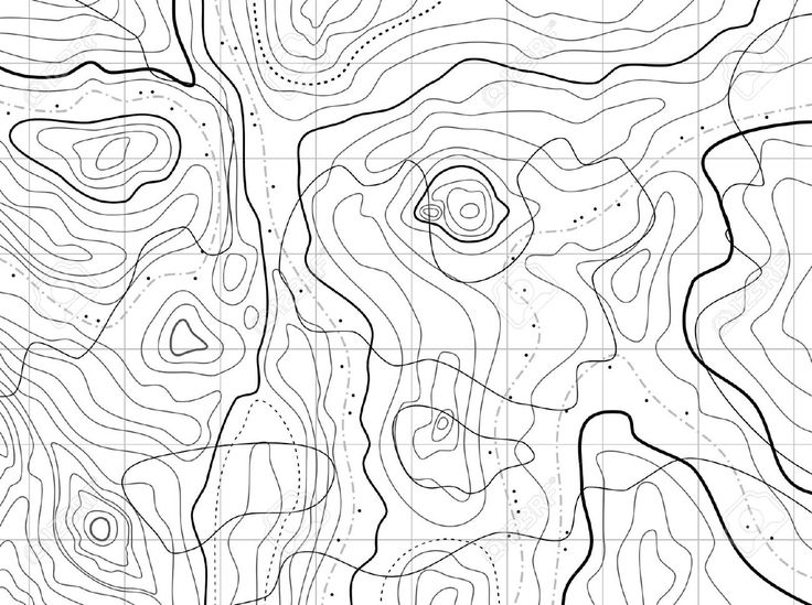 how to read topographic maps contour lines