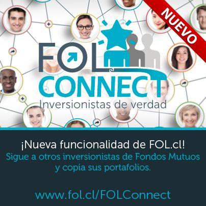 Te presentamos FOL Connect (https://www.fol.cl/FOLConnect), una nueva funcionalidad de FOL.cl con la que podrás seguir a otros inversionistas de fondos mutuos y copiar sus portafolios actuales.