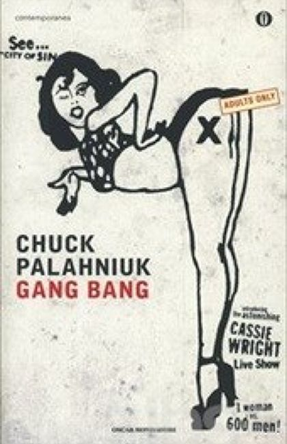 """Cassie Wright, regina leggendaria del porno, decide di chiudere in """"bellezza"""" la sua carriera battendo il record mondiale di Gang Bang (quella particolare performance porno nella quale una gentile signora fa sesso con un numero spropositato di gentili signori) e di farne un film. Il suo obiettivo è quanto mai ambizioso: 600 uomini. Il libro si basa su quanto dicono, pensano e fanno Mr. 72, Mr. 137, e Mr. 600 che attendono il loro turno in una stanza assai affollata e rumorosa."""