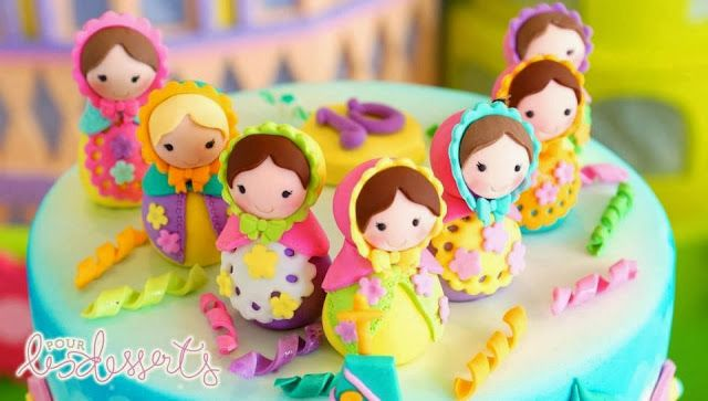 Party Inspirations: Matryoshka for Kelly's 10th Birthday by Cupcakes Moments