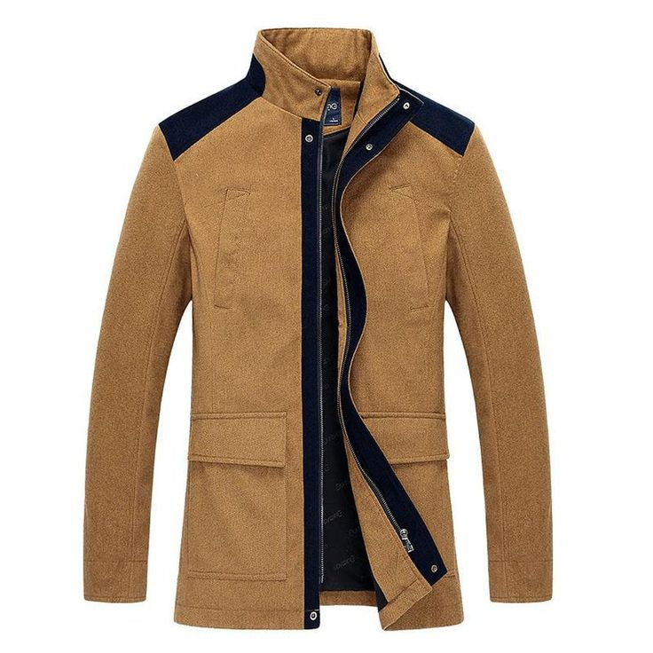Men windbreaker coat #coat #men #fashion #new #winter #jacket https://seethis.co/o9OWKO/