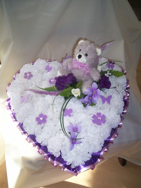 Heart Silk Wreath
