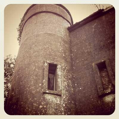 the Round Tower of Garrendenny Castle   Garrendenny Lane Interiors