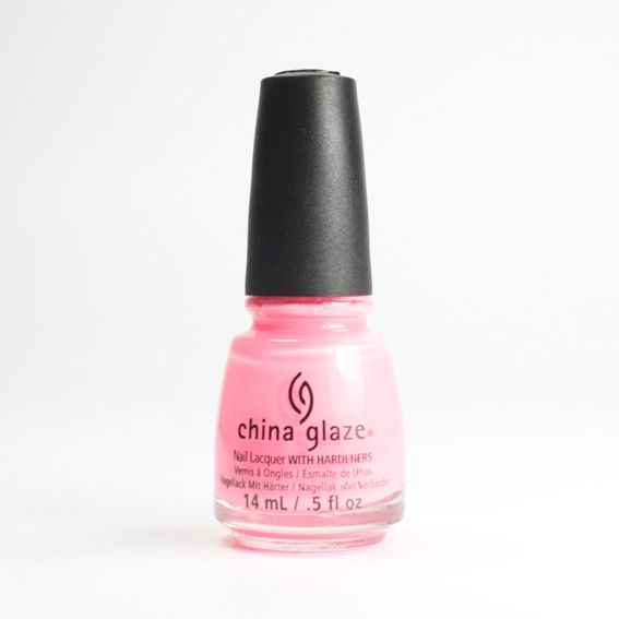 CHINA GLAZE Neon & On & On, vernis rose néon sur Bec et Ongles €8.50