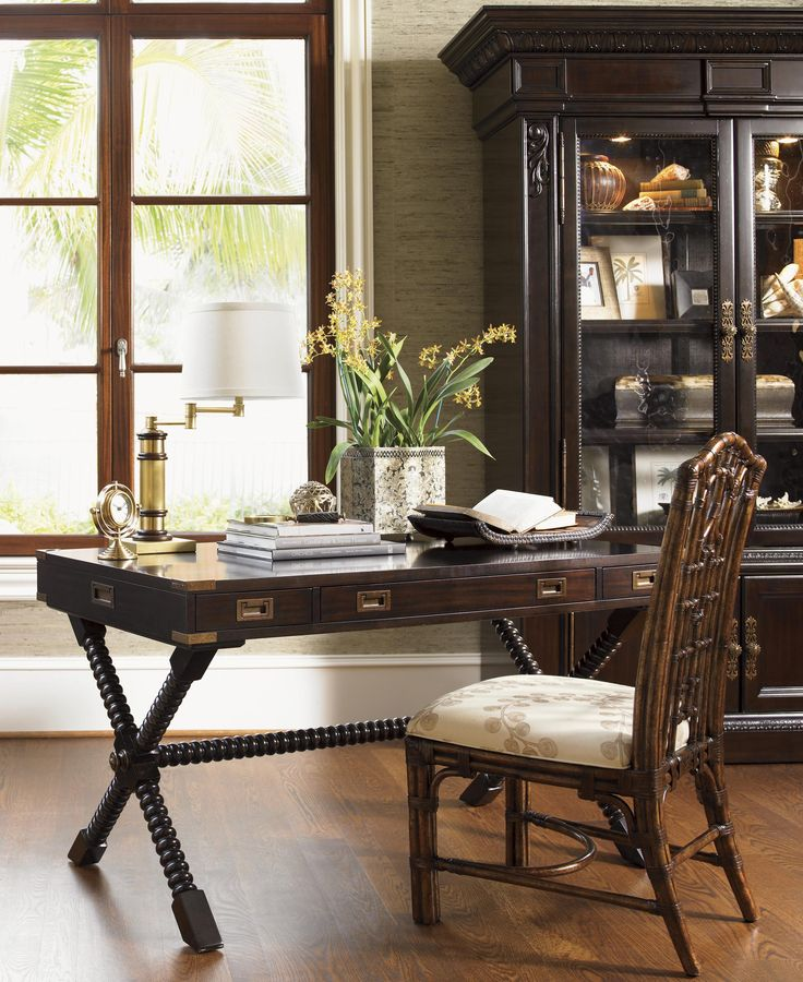 Tommy Bahama By Lexington Home Brands Royal Kahala Poets Crossing Writing  Desk   The Tommy Bahama Royal Kahala Poets Crossing Writing Desk Makes A  Great ...