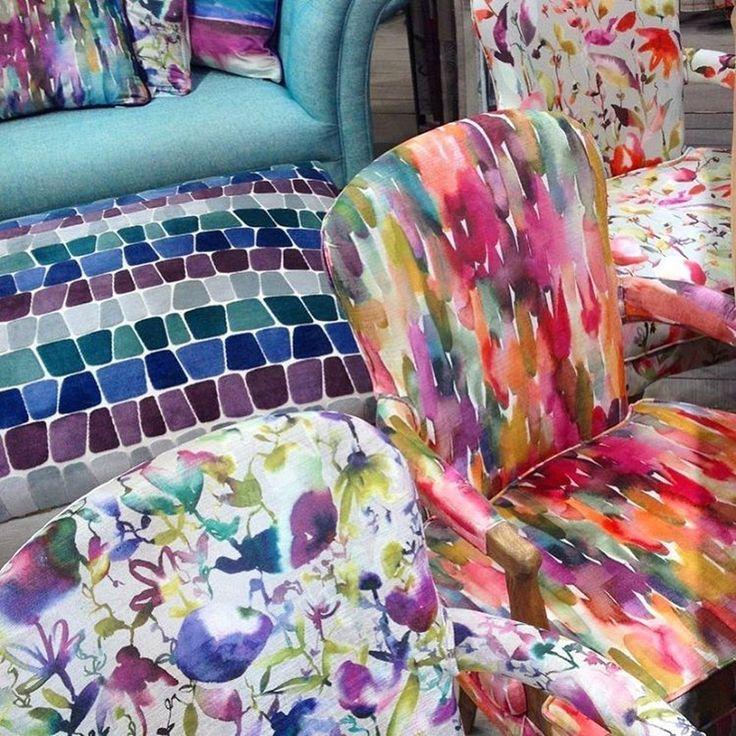 Добавьте осени цвета с тканями @voyage_deco #voyagemaison #colourlove #interior #living #style #inspiration #colour #цвет #galleria_arben
