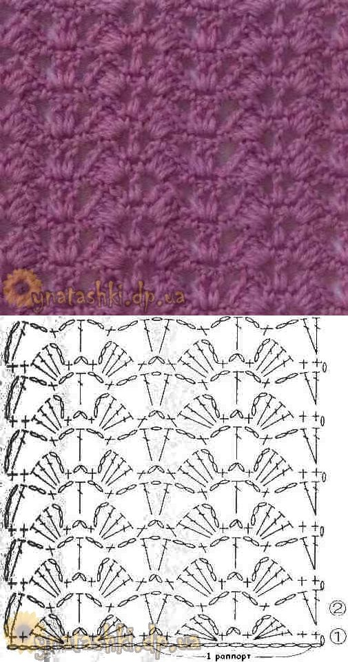 400+ best MUESTRAS DE TEJIDOS images on Pinterest | Crochet patterns ...