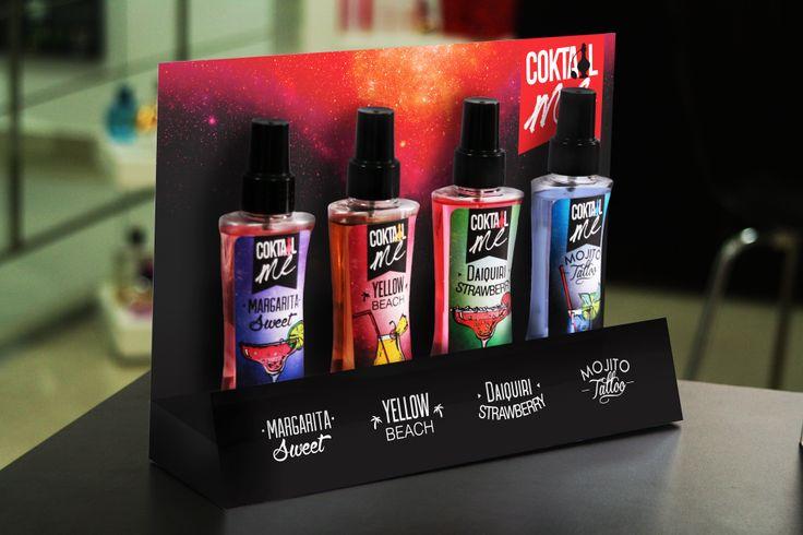 diseño de exhibidor y producto ! Coktail Me