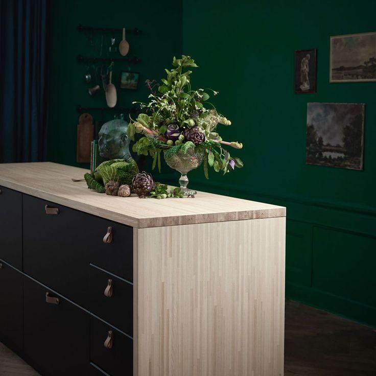 99 best Cuisine images on Pinterest Kitchen ideas, Kitchen modern - meuble cuisine porte coulissante ikea