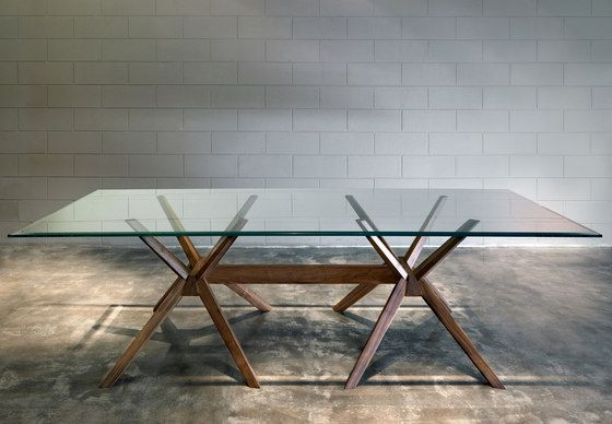 Milano rectangular table by Tisettanta | Dining tables