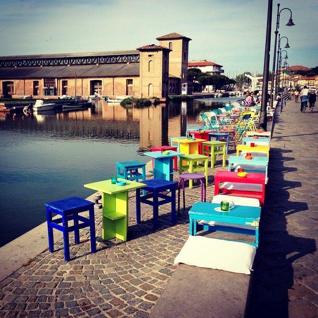 """""""Ogni angolo della Romagna nasconde una meraviglia"""" Porto Canale Di Cervia - Instagram by lady_red_poppy"""