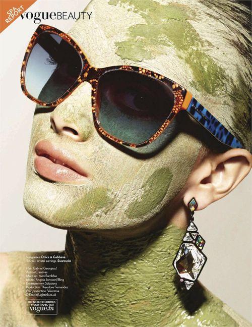 Angela Jonsson | Dirk Bader | Vogue India June 2012