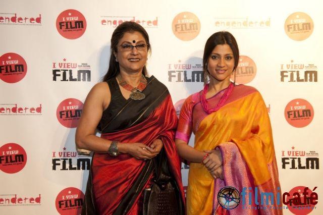 Aparna Sen, Konkona Sen, Engendered, I VIEW Film Festival, closing night, red carpet