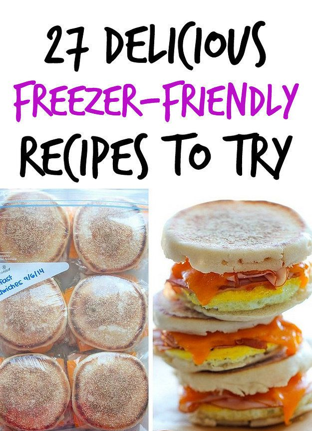 27 Freezer-Friendly Recipes That Can Save You Time And Money