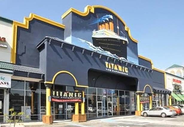 Titanic The Experience Orlando, Florida.  Stayed at water resort right across the parking lot from this.  Went inside also.  Sad stuff.
