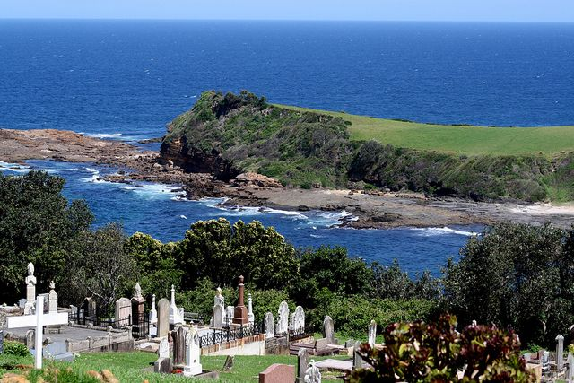 gerringong cemetery, NSW Australia