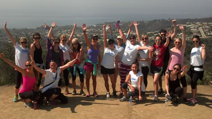 Temescal Canyon Hike with #US12WBT and @Michelle Bridges